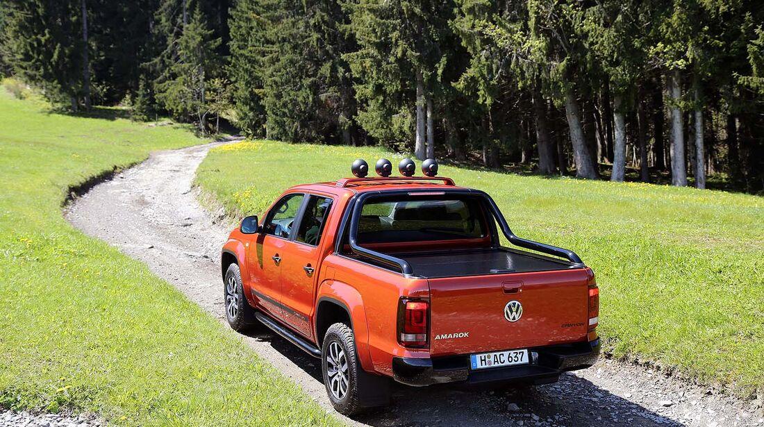 VW Amarok Canyon Fahrbericht / Test