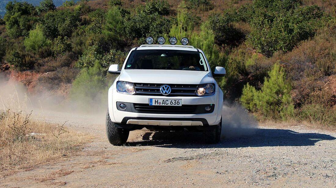 VW Amarok Canyon Griechenland 2013