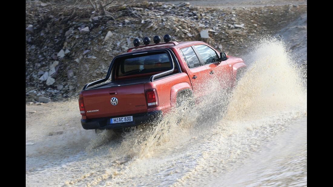 VW Amarok Canyon, Heckansicht