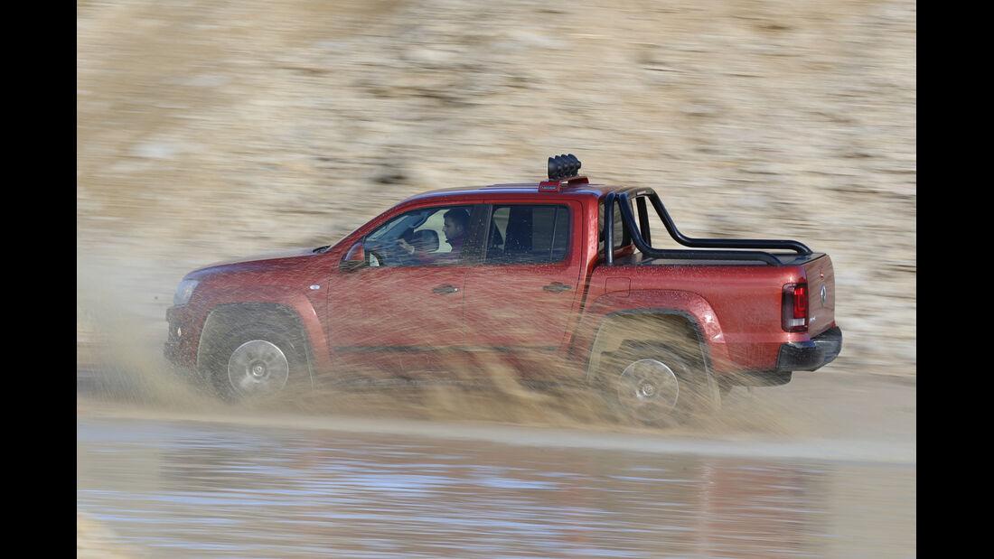 VW Amarok Canyon, Seitenansicht