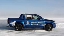 VW Amarok Finnland Eisfahrschule