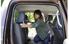 VW Amarok, Innenraum-Check, Fond