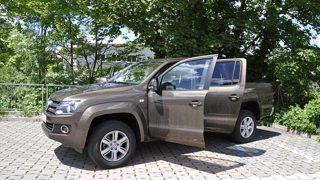 VW Amarok, Innenraum-Check, Front