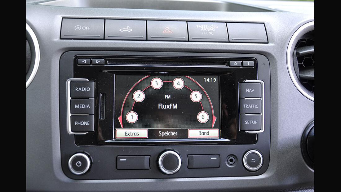 VW Amarok, Innenraum-Check, Interieur