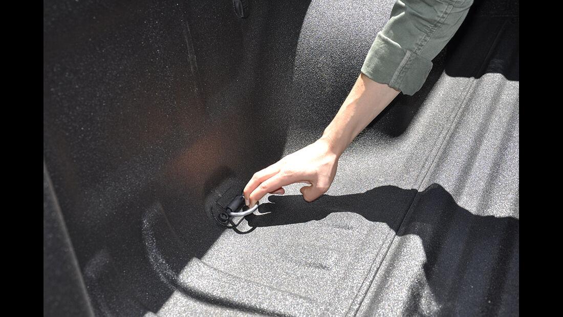 VW Amarok, Innenraum-Check, Laderaum