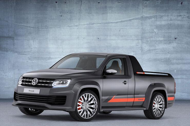VW Amarok Power GTI-Treffen Wörthersee 2014