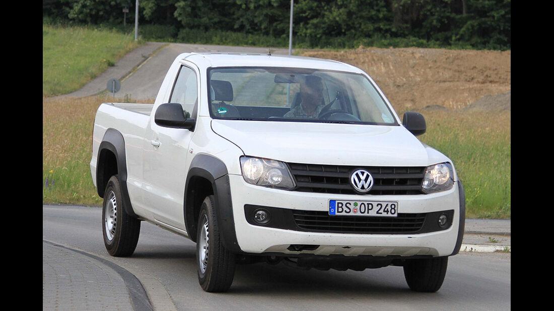 VW Amarok Single Cab Erlkönig