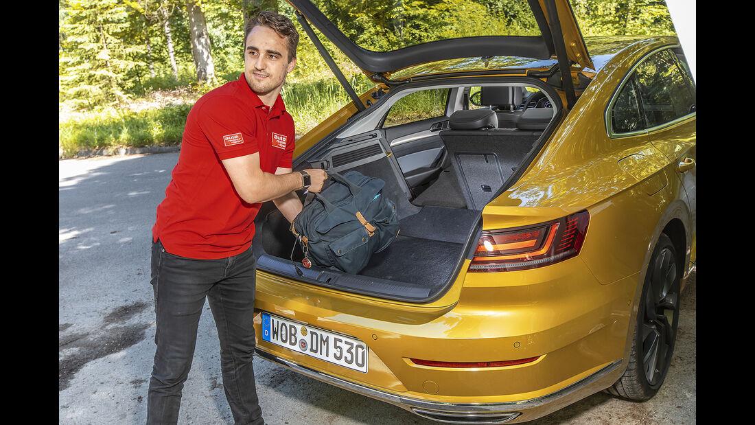 VW Arteon 2.0 TSI 4Motion, Kofferraum