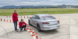 VW Arteon Assistensysteme Test