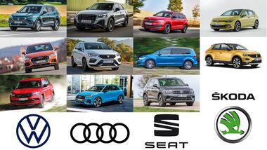 VW Audi Seat Skoda Rückruf