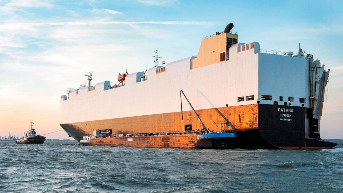 VW Autotransporter Schiff LNG