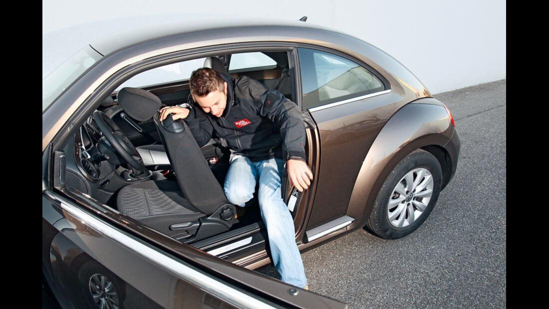 VW Beetle 1.2 TSI, Ausstieg