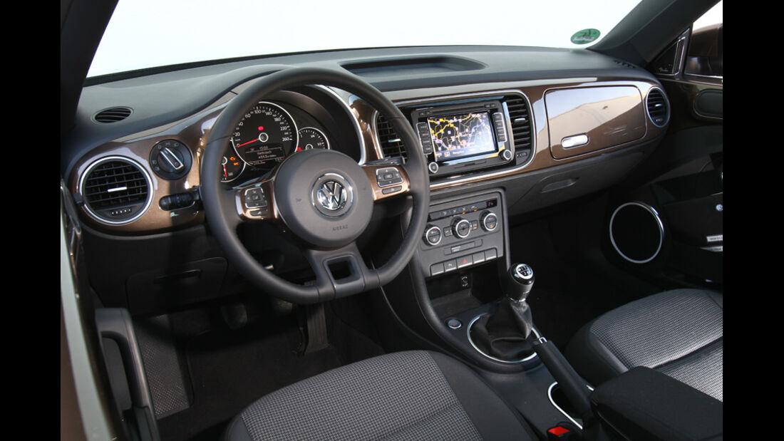 VW Beetle 1.2 TSI, Cockpit
