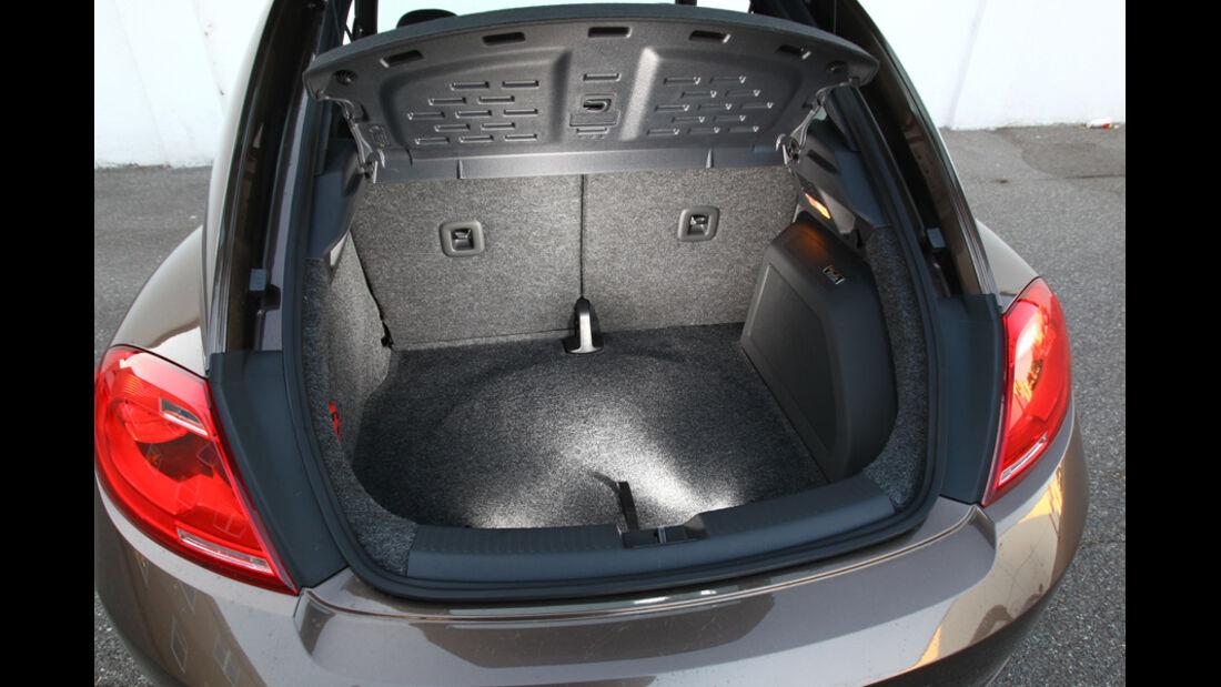 VW Beetle 1.2 TSI, Kofferraum