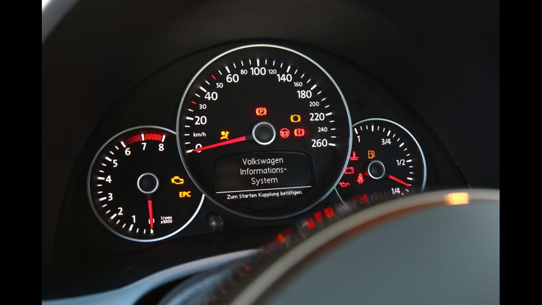 VW Beetle 1.2 TSI, Rundinstrumente