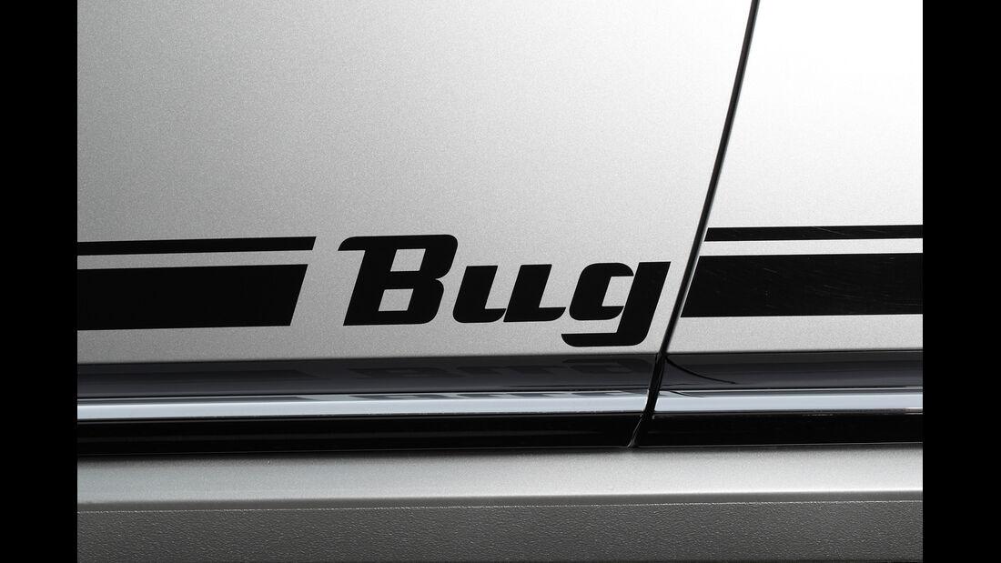 VW Beetle 1.4 TSI Design, Bug, Schriftzug