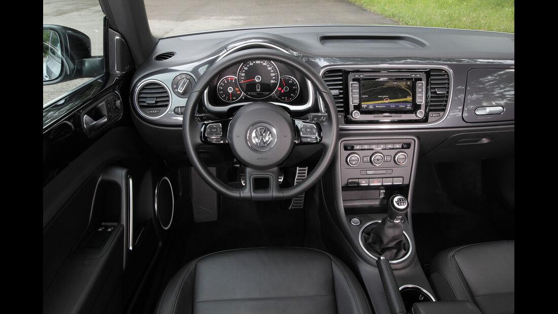 VW Beetle 1.4 TSI Design, Cockpit
