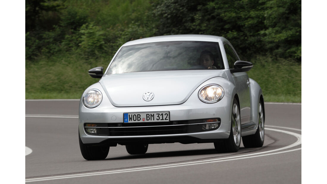VW Beetle 1.4 TSI Design, Frontansicht