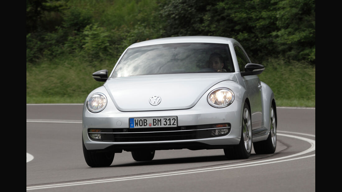 VW Beetle 1.4 TSI Design, Frontansicht