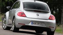 VW Beetle 1.4 TSI Design, Heckanaicht