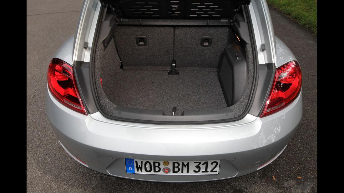 VW Beetle 1.4 TSI Design, Kofferraum