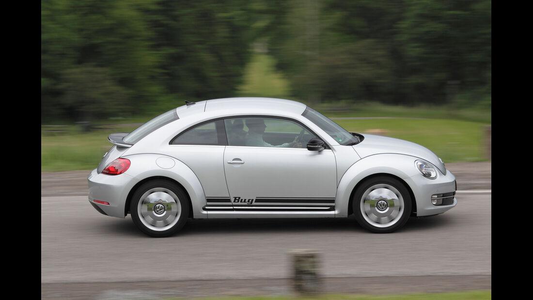 VW Beetle 1.4 TSI Design, Seitenansicht