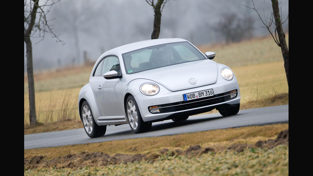 VW Beetle 1.6 TDI, Frontansicht