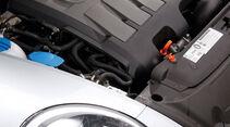 VW Beetle 1.6 TDI, Motor, Frontscheinwerfer