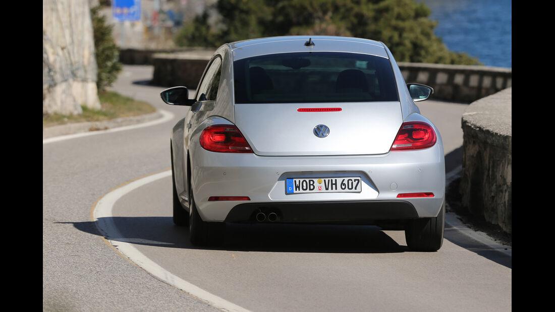 VW Beetle 2.0 TDI Design, Heckansicht