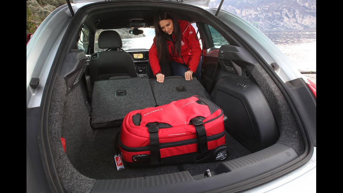 VW Beetle 2.0 TDI Design, Kofferraum