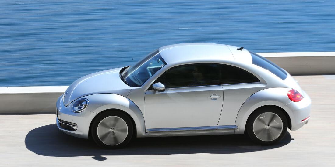 VW Beetle 2.0 TDI Design, Seitenansicht
