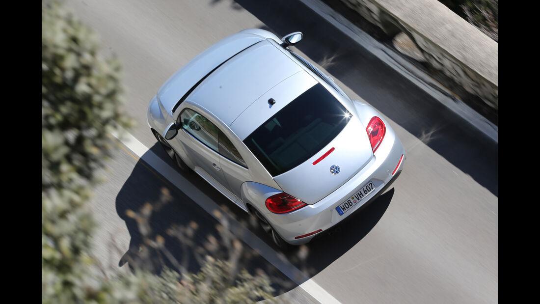 VW Beetle 2.0 TDI Design, von oben