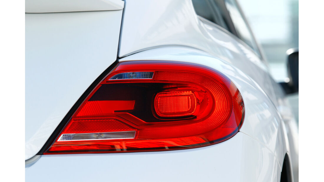 VW Beetle 2.0 TSI DSG, Detail, Hecklicht, Rücklichter