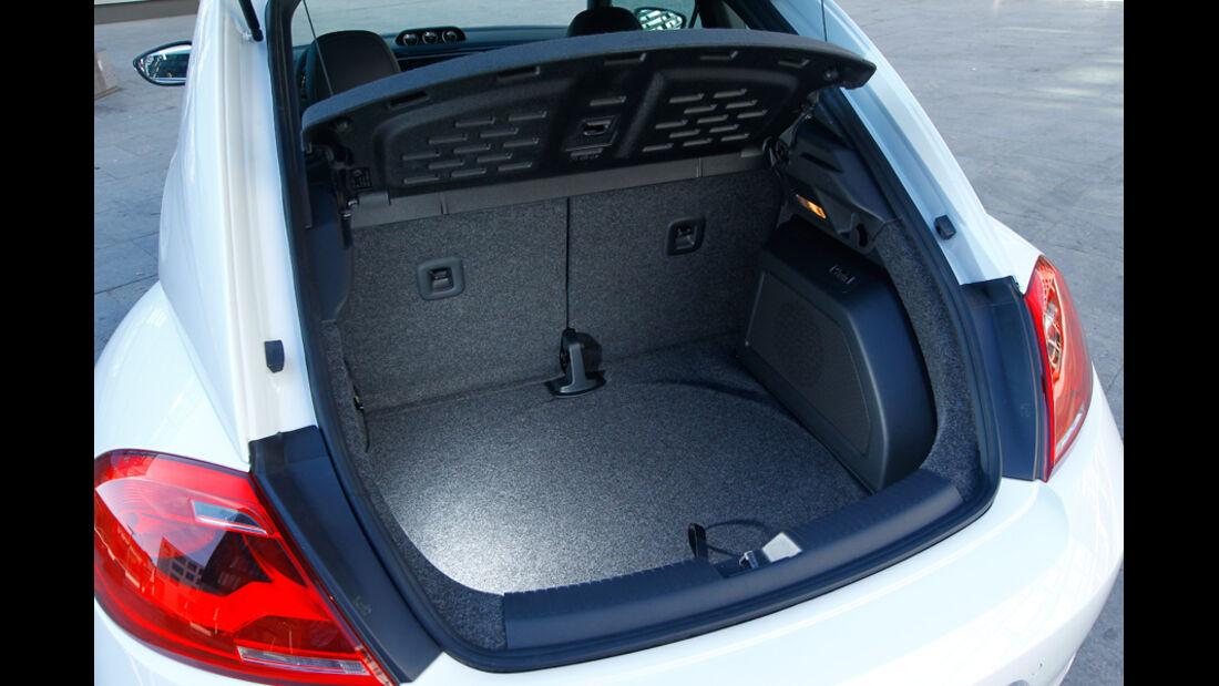 VW Beetle 2.0 TSI DSG, Kofferraum