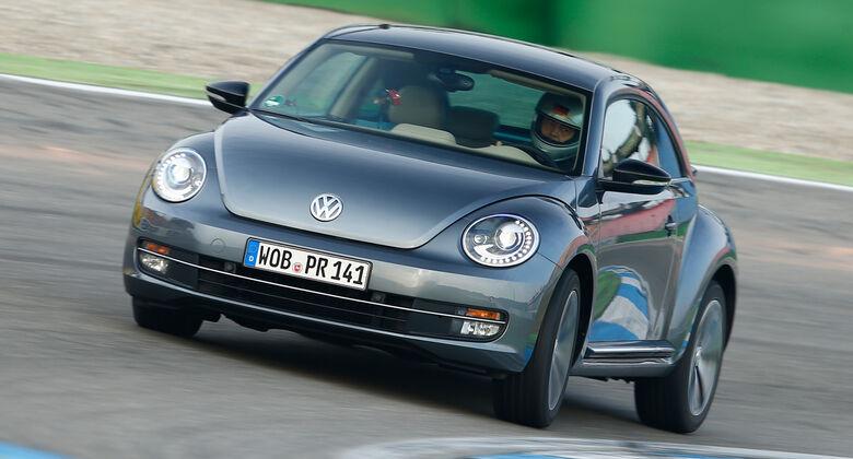 VW Beetle 2.0 TSI, Frontansicht