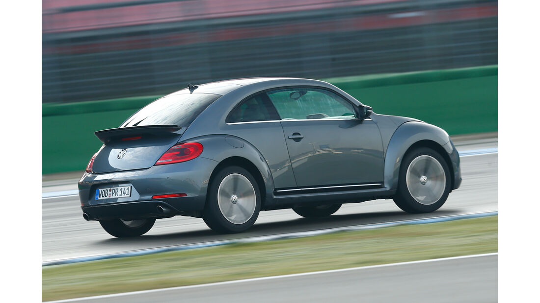 VW Beetle 2.0 TSI, Heckansicht