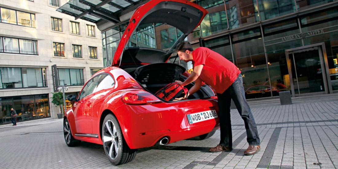 VW Beetle 2.0 TSI, Heckklappe
