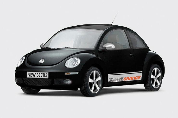 VW Beetle BlackOrange Sondermodell
