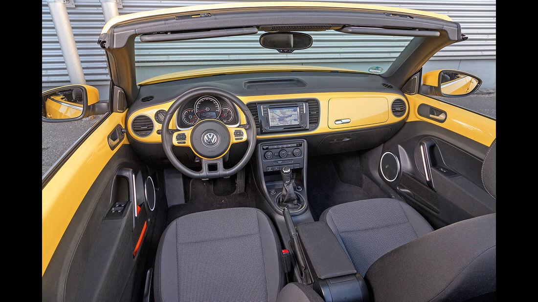 VW Beetle Cabrio 1.4 TSI, Cockpit
