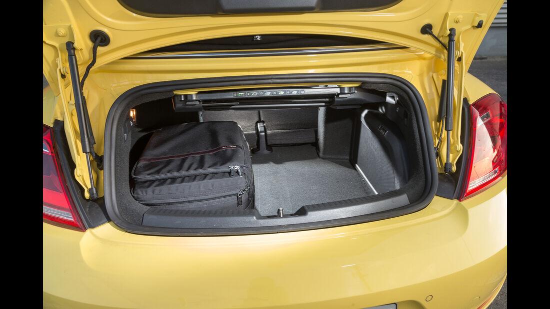 VW Beetle Cabrio 1.4 TSI, Kofferraum