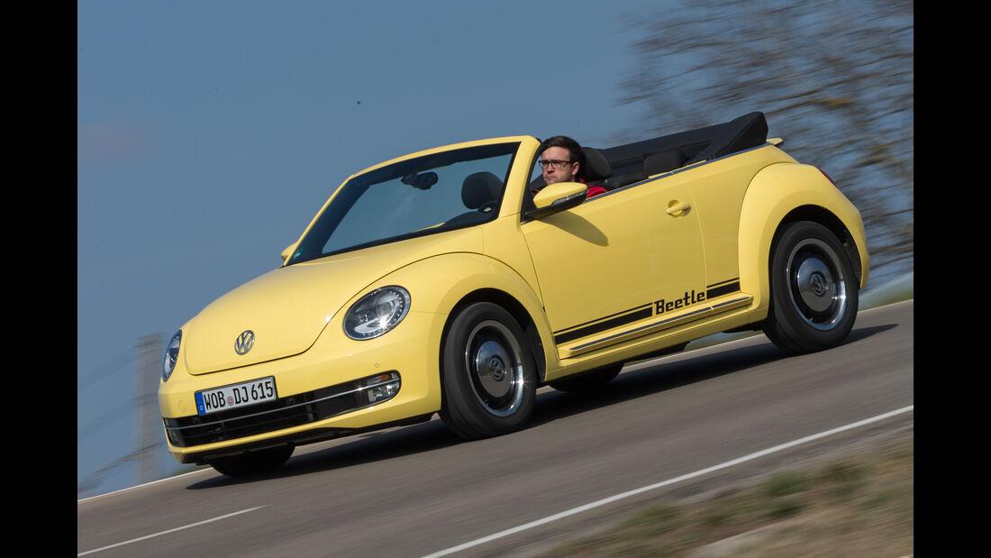 VW Beetle Cabrio 1.4 TSI, Seitenansicht