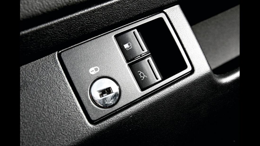 VW Beetle Cabrio Bedienknöpfe