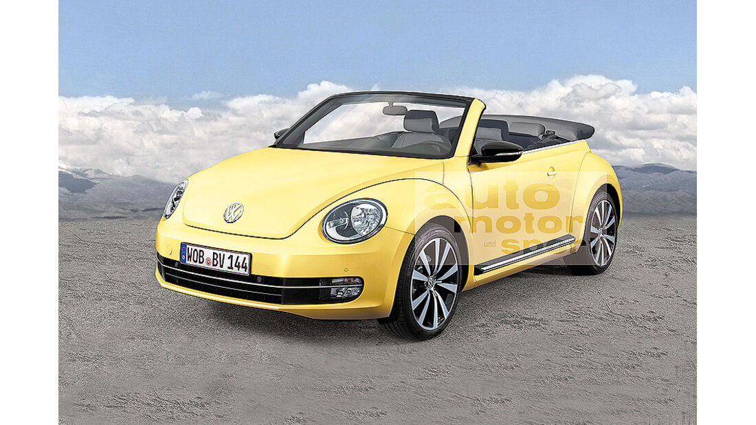 VW Beetle Cabrio, Front