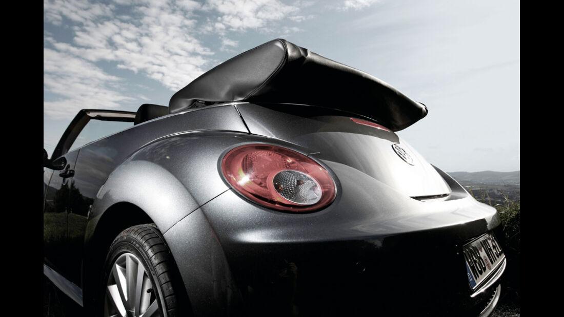 VW Beetle Cabrio Heck