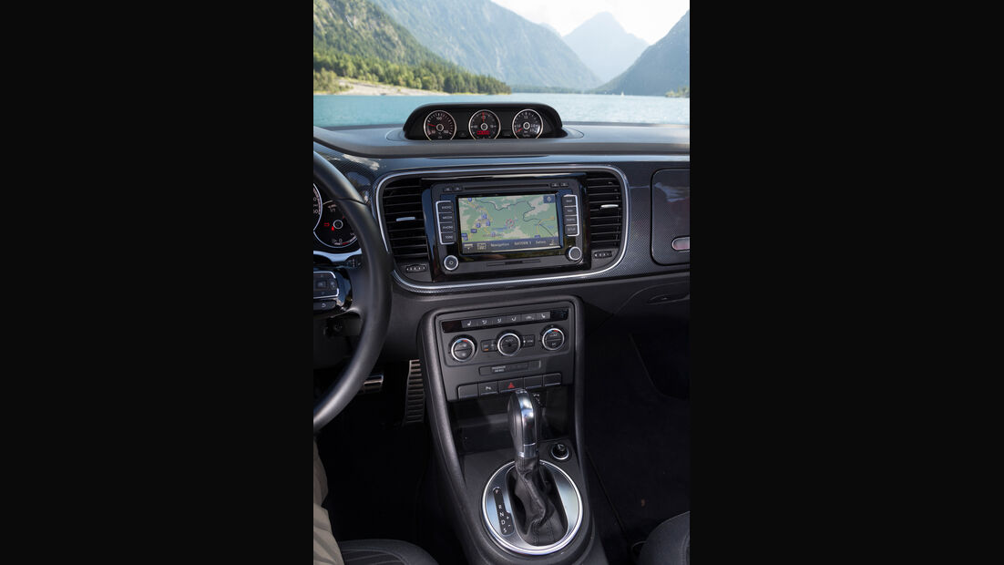 VW Beetle Cabrio, Mittelkonsole
