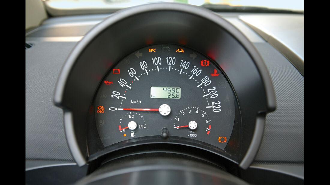 VW Beetle Cabrio, Rundinstrument