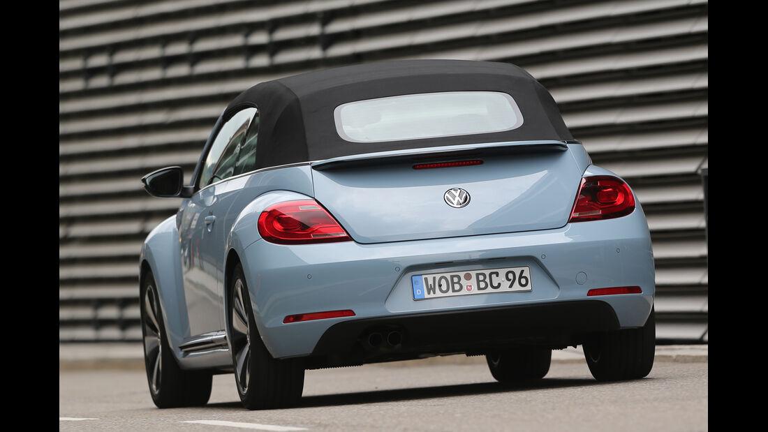 VW Beetle Cabriolet 1.4 TSI Sport, Heckansicht