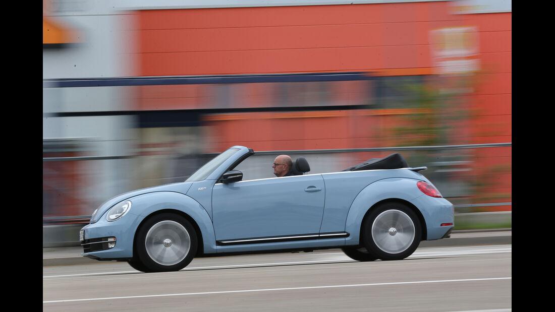 VW Beetle Cabriolet 1.4 TSI Sport, Seitenansicht