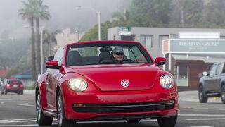 VW Beetle Cabriolet, Frontansicht