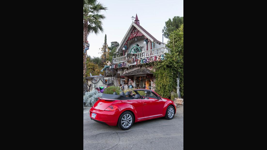 VW Beetle Cabriolet, Heckansicht